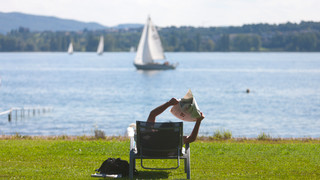 Summertime at Lake Constance