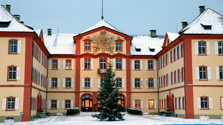 Castle Mainau in winter