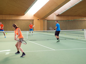 Tennis in the Ringhotel Krone Schnetzenhausen at Lake Constance