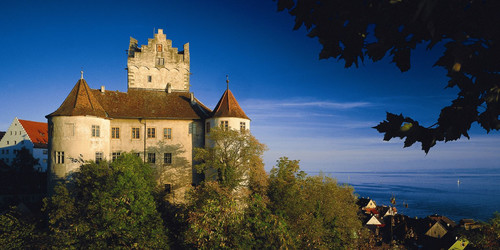 Old Castle in Meersburg at Lake Constance