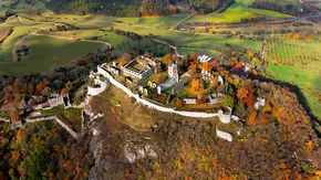 Fortress ruins, Hohentwiel at Lake Constance