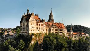 Hohenzollern - Sigmaringen Castle close to Lake Constance