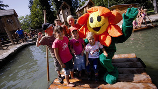 Paradise for children on Mainau island at Lake Constance