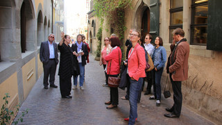 Guided city tour Constance