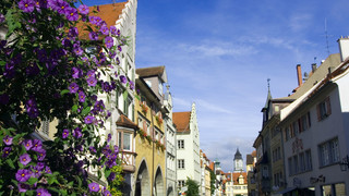 Guided city tour in Lindau at Lake Constance