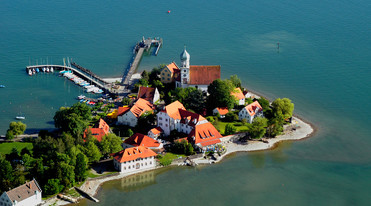 Wasserburg at Lake Constance