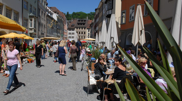 Feldkirch close to Lake Constance