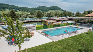 Pool on the campsite | © Camping Wagenhausen
