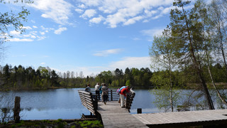 Pfrunger-Burgweiler peatlands with their nature conservation centre close to Lake Constance