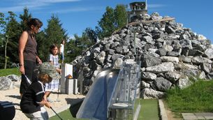 Adventure golf in the Seepark Linzgau close to Lake Constance