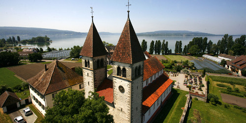 St. Peter und Paul church on the Reichenau Island at Lake Constance