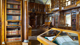 Abbey library in St.Gallen close to Lake Constance
