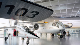 Dornier museum in Friedrichshafen at Lake Constance