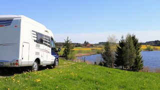 Camper in Upper Swabia - Allgäu close to Lake Constance
