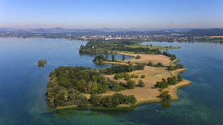 Mettnau Peninsula at Lake Constance