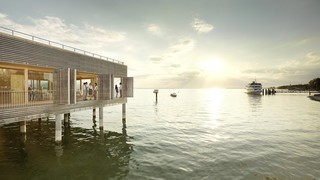 Seehotel am Kaiserstrand in Lochau at Lake Constance
