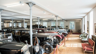 Rolls-Royce Museum in Dornbirn at Lake Constance