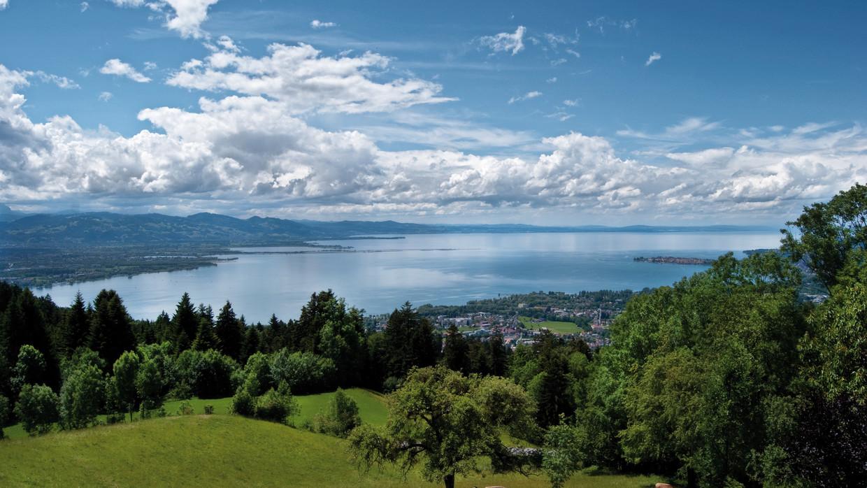 Regionen und Städte am Bodensee: Deutschland, Österreich, Schweiz,