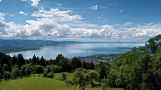 View onto Lake Constance