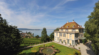 Castle and Parc Arenenberg close to Lake Constance