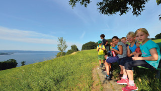 Hiking in Steckborn close to Lake Constance