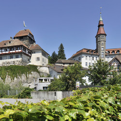 Schloss in Frauenfeld close to Lake Constance