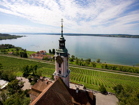 Birnau abbey church at Lake Constance