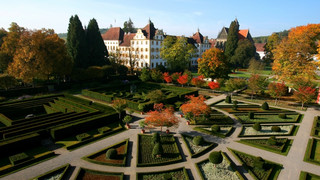 Salem Monastery and Palace close to Lake Constance