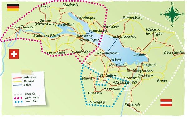Bodensee Ticket Freie Fahrt Mit Bahn Bus Und Fahre Am Bodensee