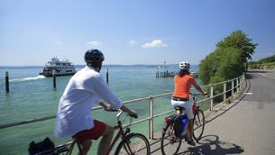 Cycling at Lake Constance