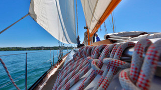Sailing trip on Lake Constance