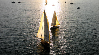 Sailing on Lake Constance
