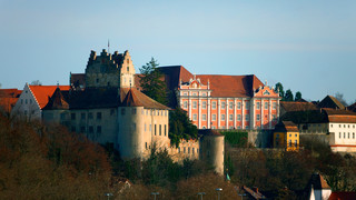 New Palace and Old Castle in Meersburg