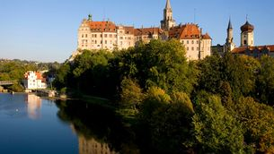 Sigmaringen Castle close to Lake Constance