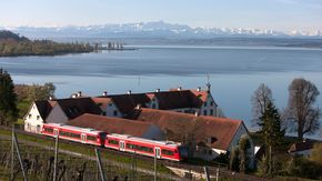 Stay mobile by train | © Bodensee Ticket