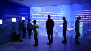 Interactive media room at Max-Planck-Institute for Ornithology