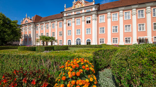 Meersburg New Palace at Lake Constance