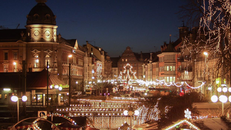 Konstanzer Weihnachtsmarkt Am See Bodensee Tourismus