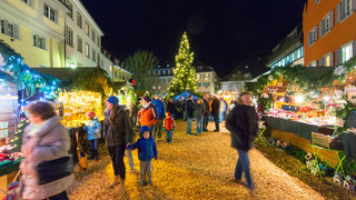 Christmas Market and Skating Rink Überlingen
