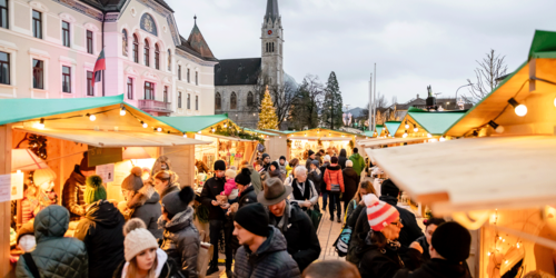 The Princely Christmas Market in Vaduz