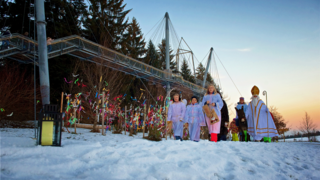 Forest Christmas in the skywalk allgäu
